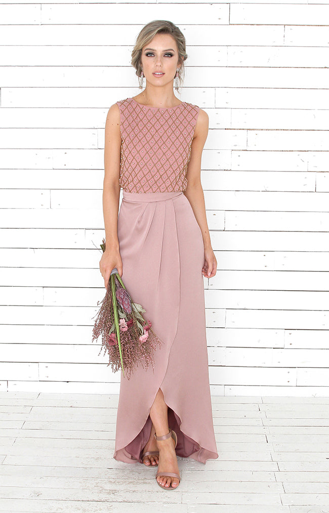Stella Skirt - Blush