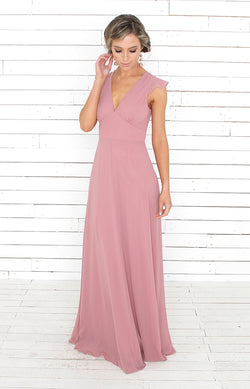 Faye Gown - Mauve