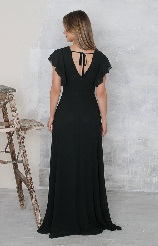 Maye Gown - Forest Green