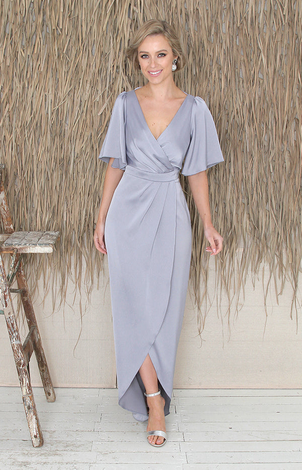 Renata Gown - Dusty Blue