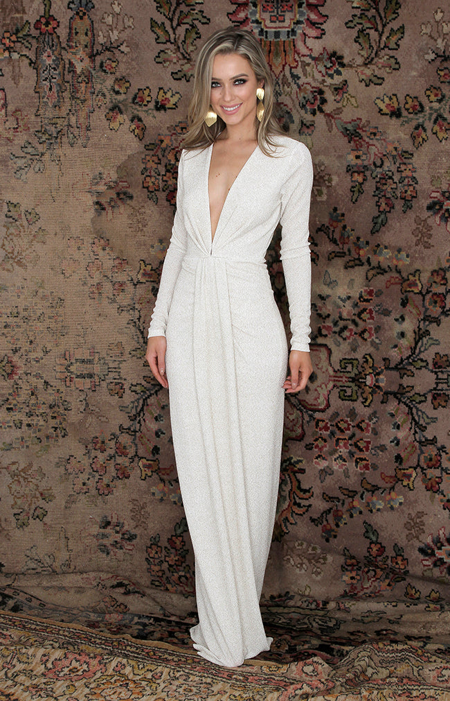 Tamsin Gown - White
