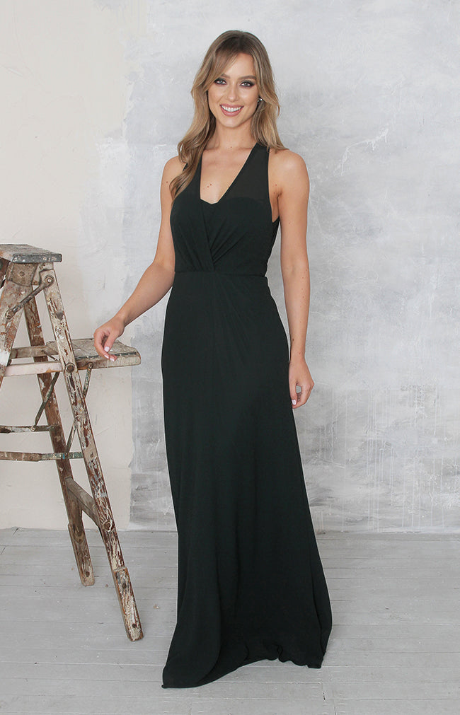 Maven Gown - Forest Green