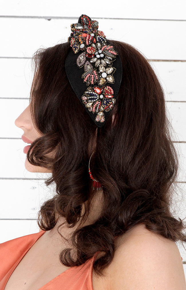 Simone Beaded Headpiece original