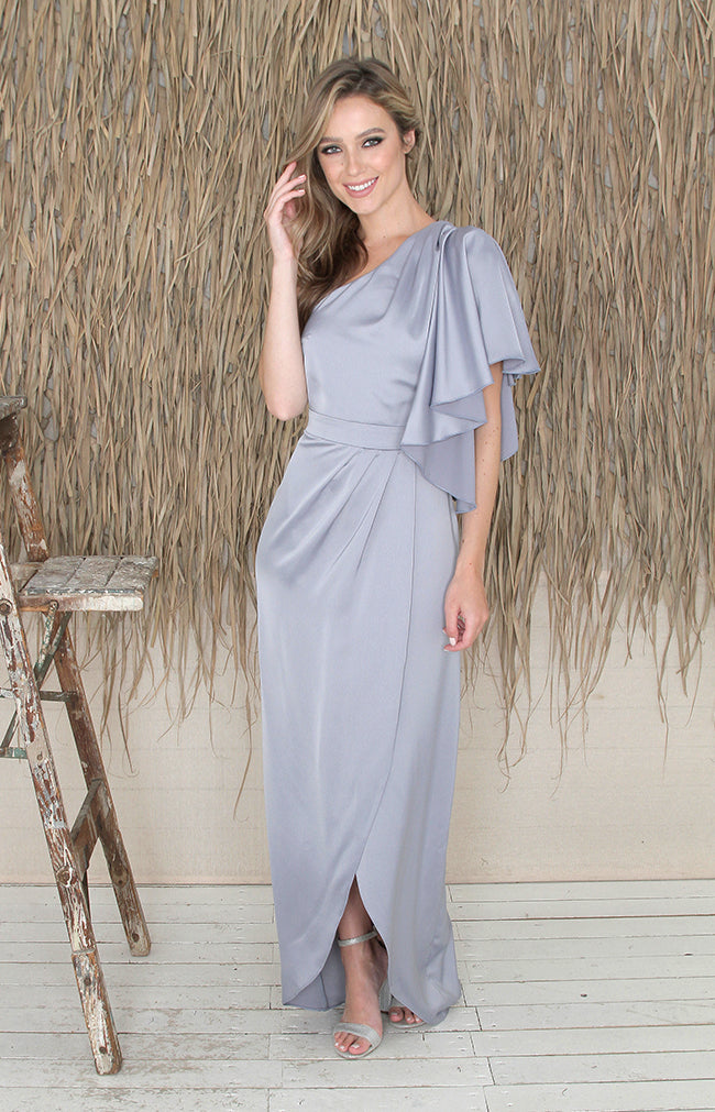 Esme Gown - Dusty Blue