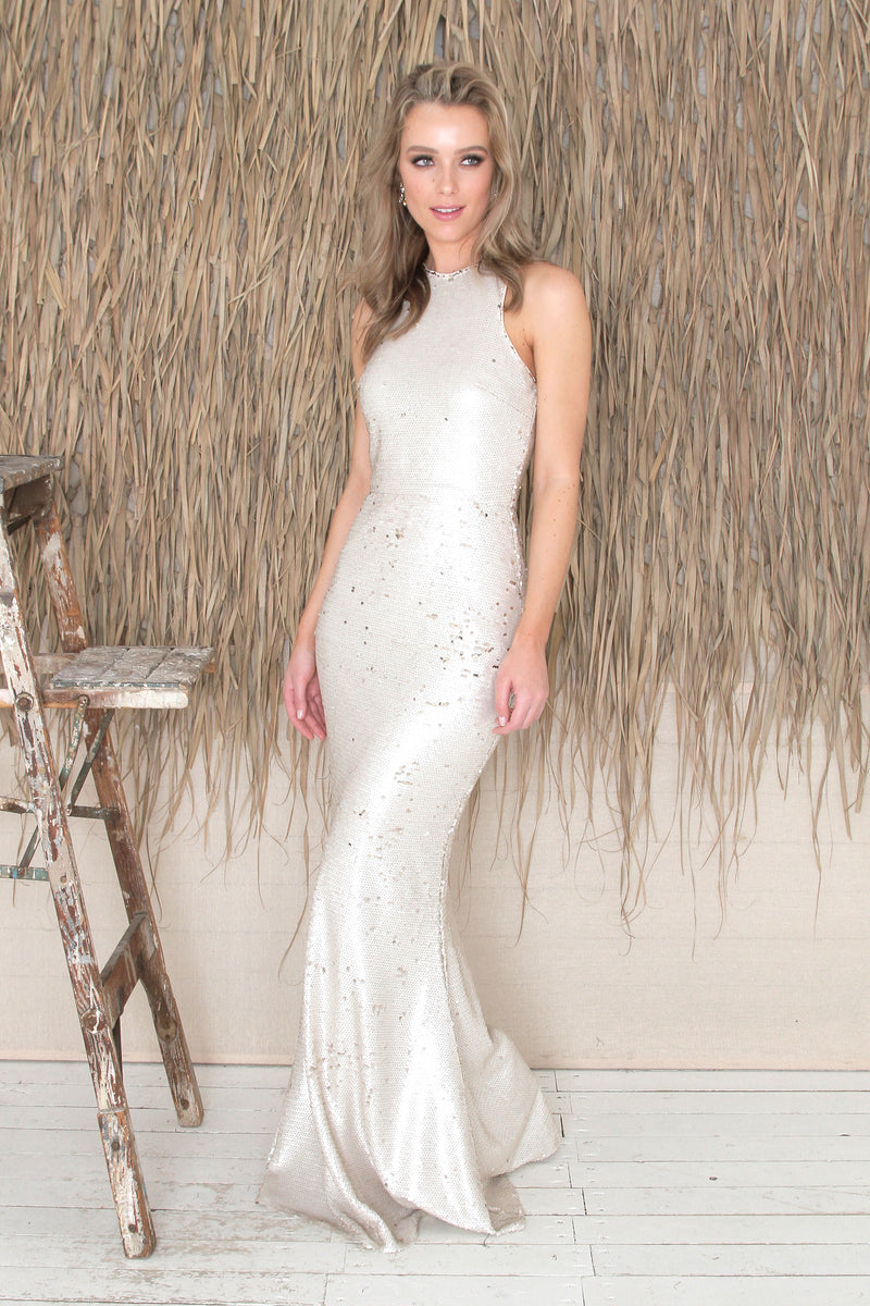 Gisele Gown - Cream