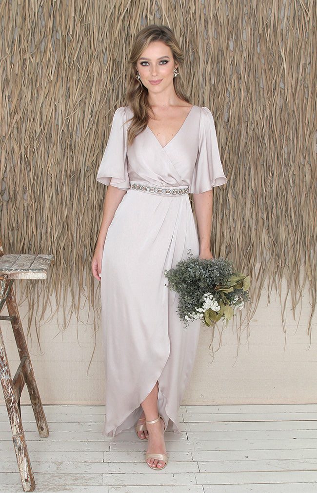 Vanna Gown - Taupe