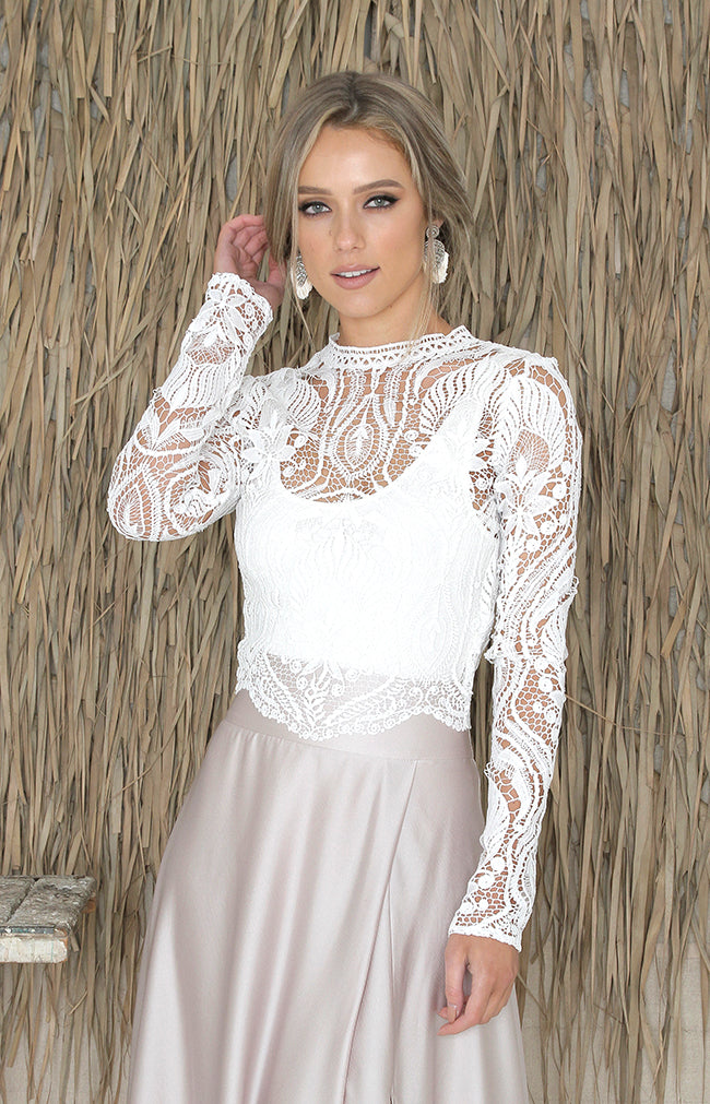 Cece Top - Ivory