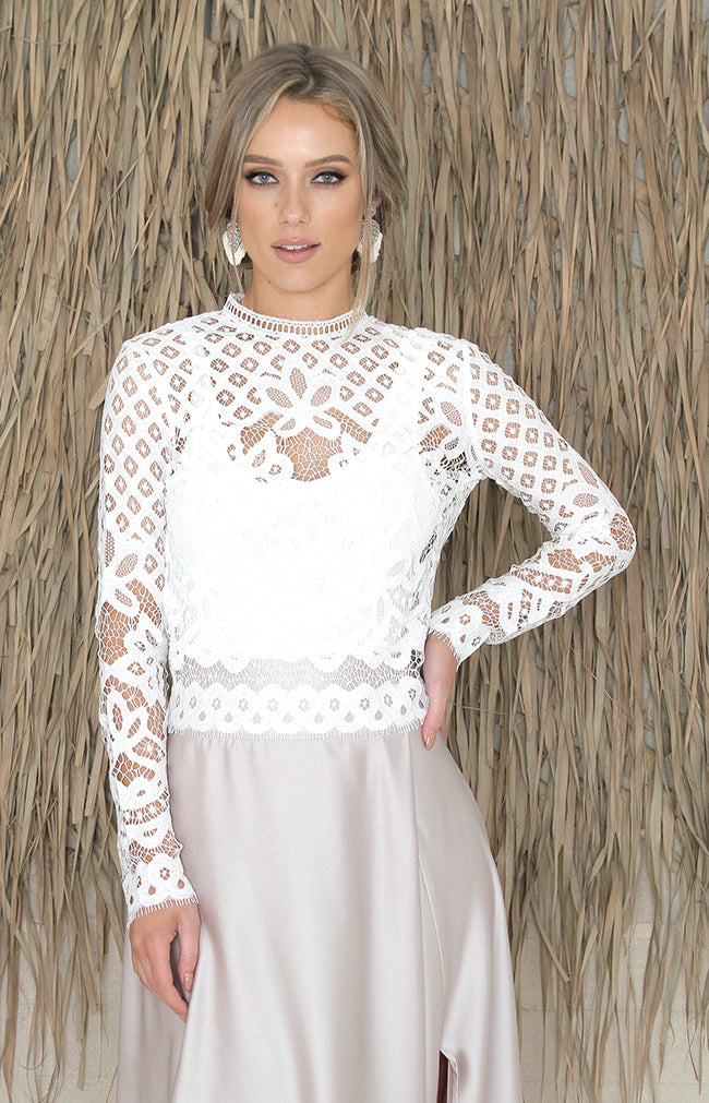 Siofra Top - Ivory