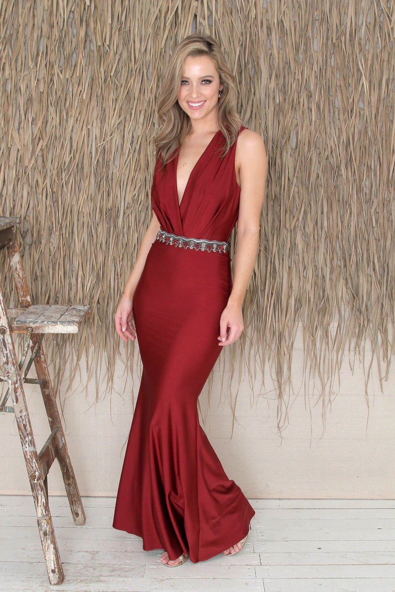 Sabel Gown - Ruby