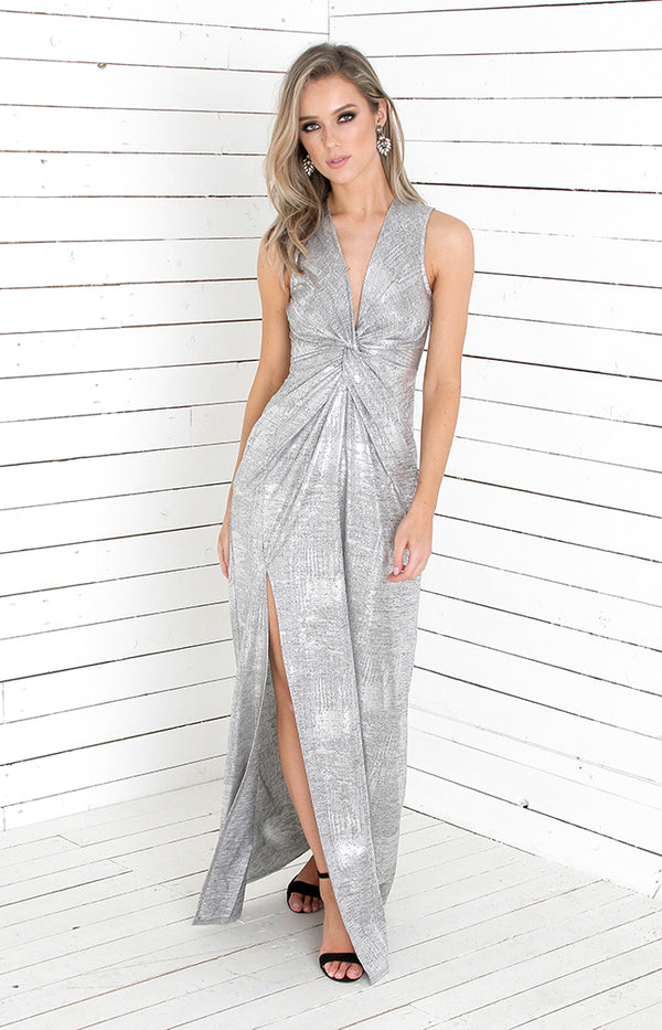 Daphne Gown - Silver