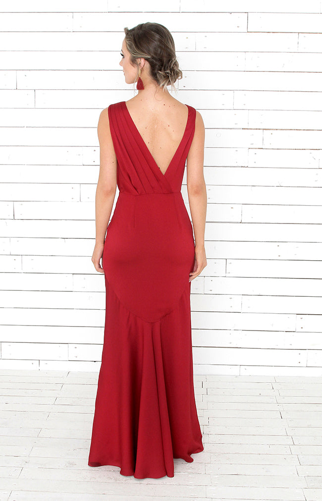 Remi Gown - Ruby Red