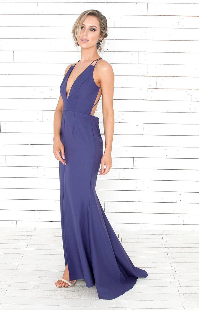 Astrid Gown - Royal Blue