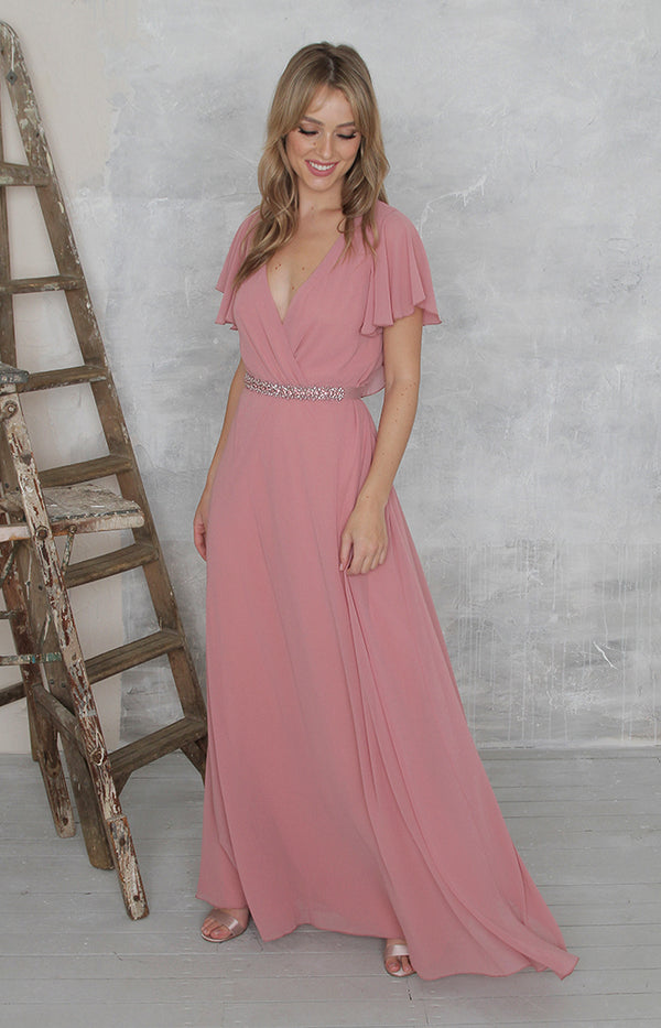 Meadow Gown - Dusty Rose