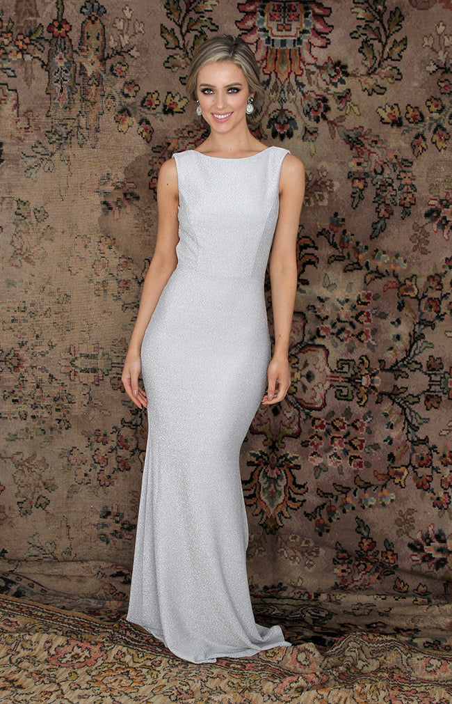Alondra Gown - Silver