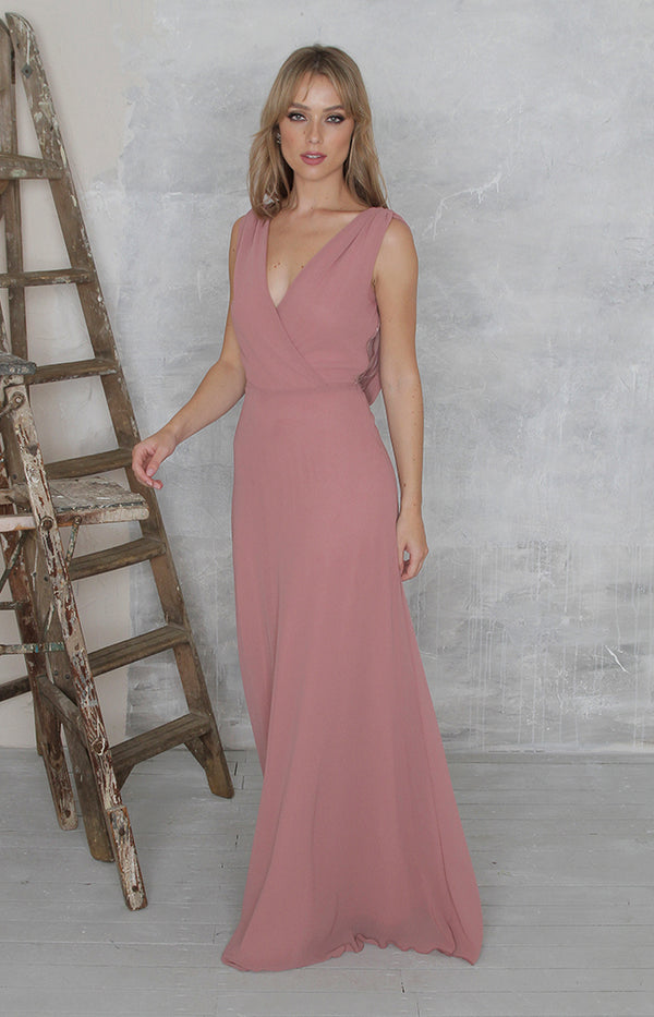 Marissa Gown - Dusty Rose