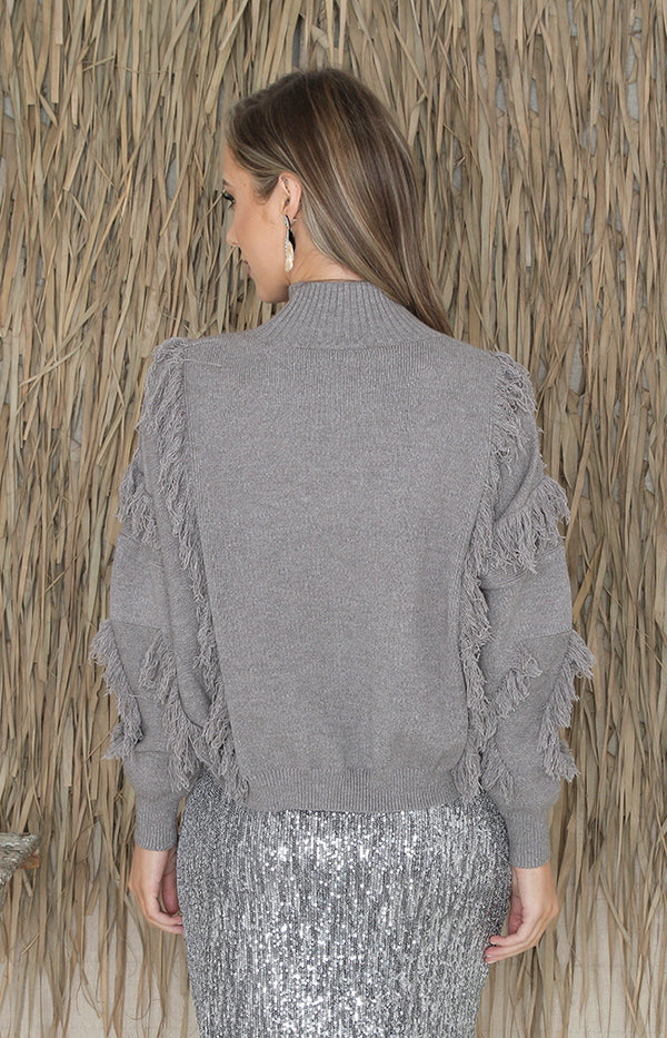 Wes Jumper - Heather Grey