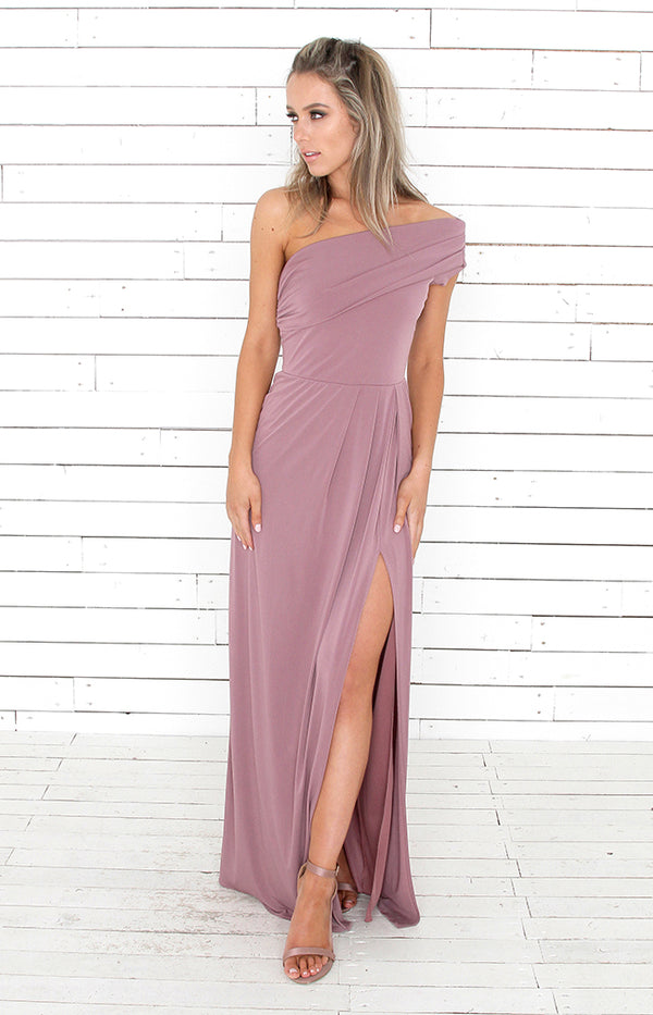 Andrea Gown - Dusty Rose