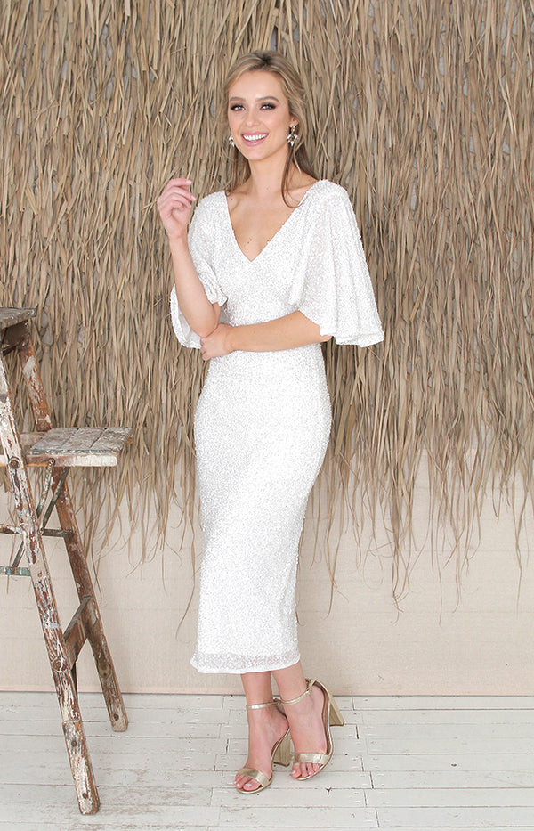 Juliette Dress - Ivory