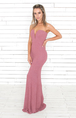 Uma Gown - Orchid Pink