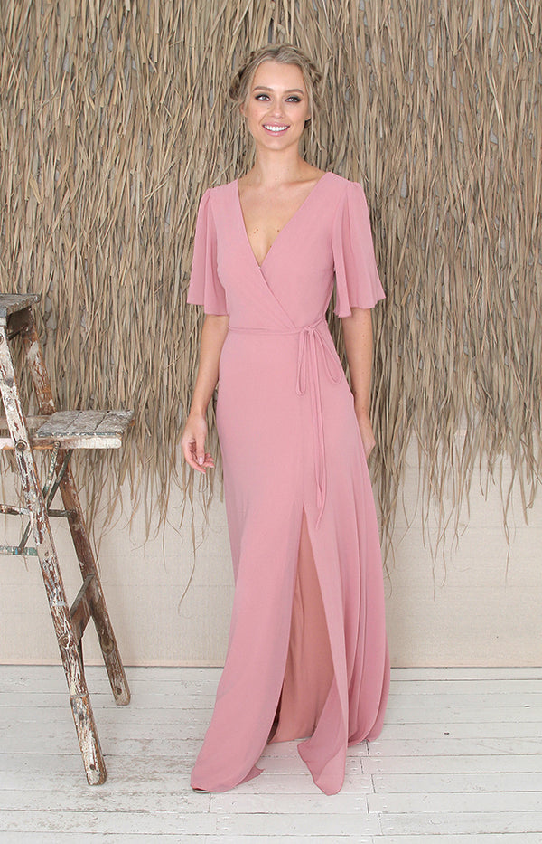 Maribel Gown - Dusty Rose