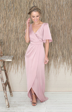 Renata Gown - Dusty Rose