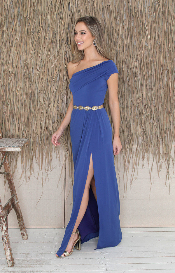 Andrea Gown - Royal Blue