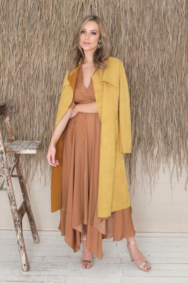 Keeley Coat - Mustard
