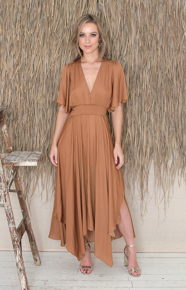 Millie Dress - Clay