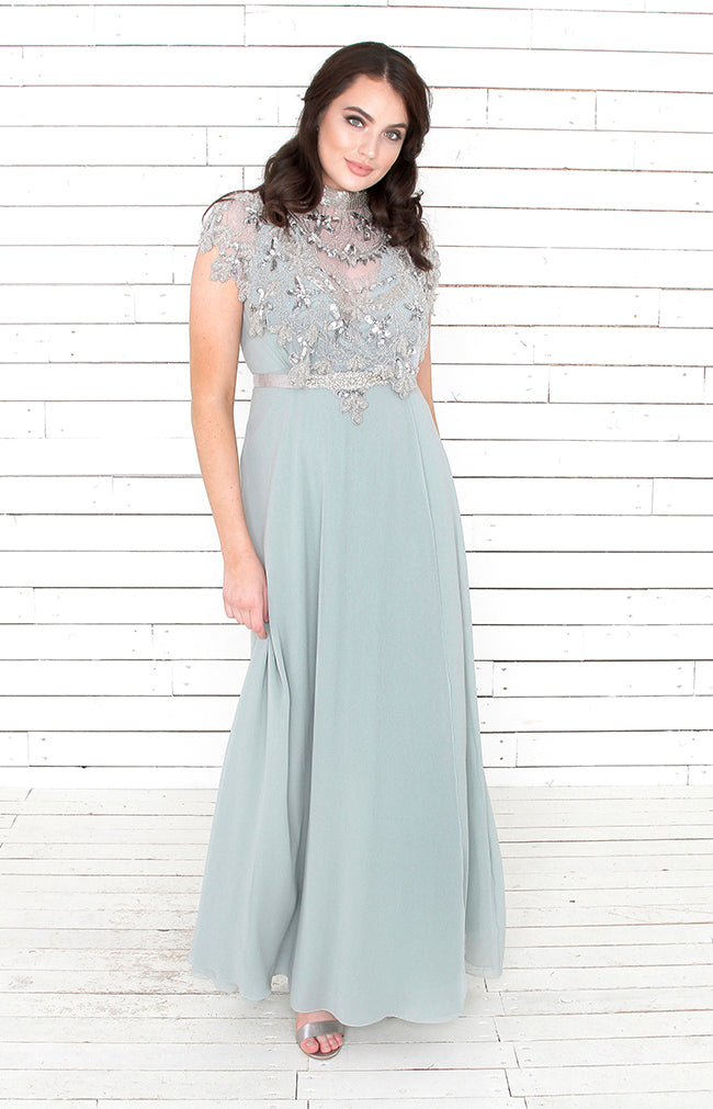 Alicia Gown  - Sage