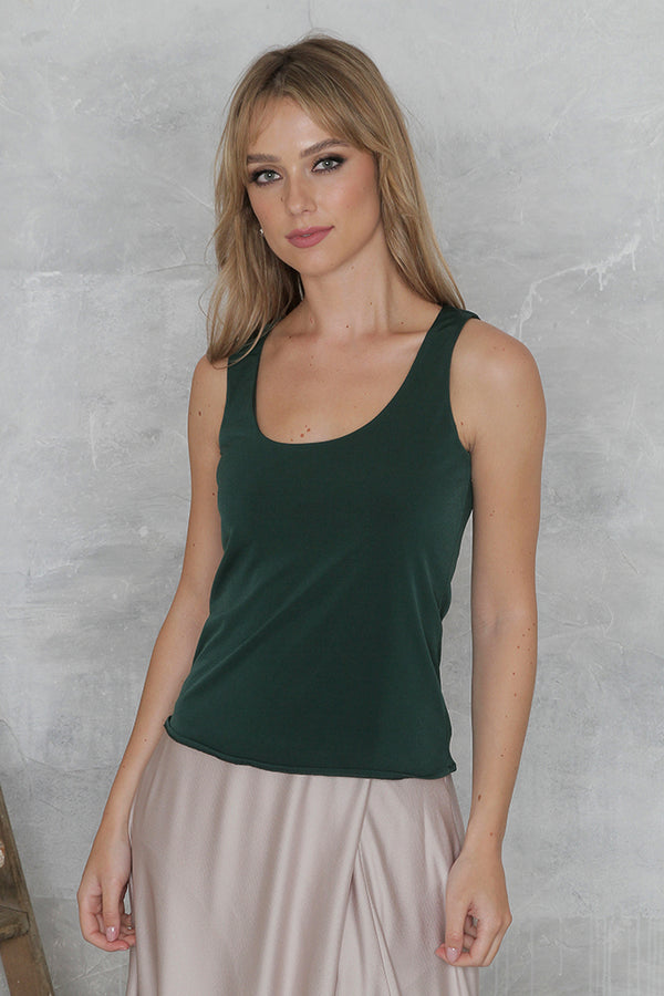 Porter Top - Forest Green