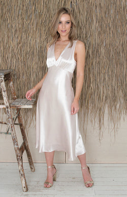 Ainslie Dress - Light Gold