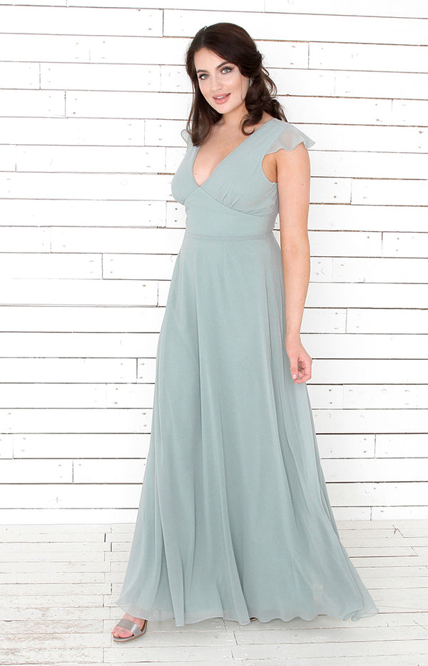 Faye Gown - Sage