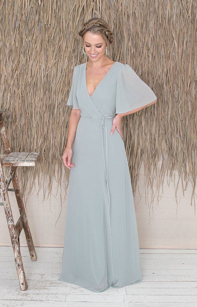 Maribel Gown - Sage Green