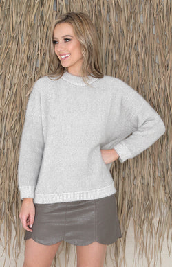Trudy Jumper - Grey