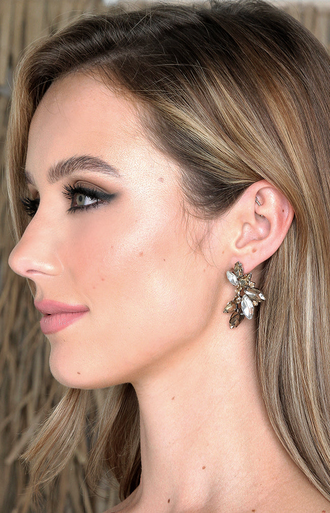 Almada Earrings - Gold/Silver