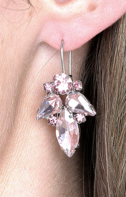 Satara Earrings - Pink
