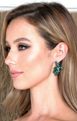 Bari Earrings - Green