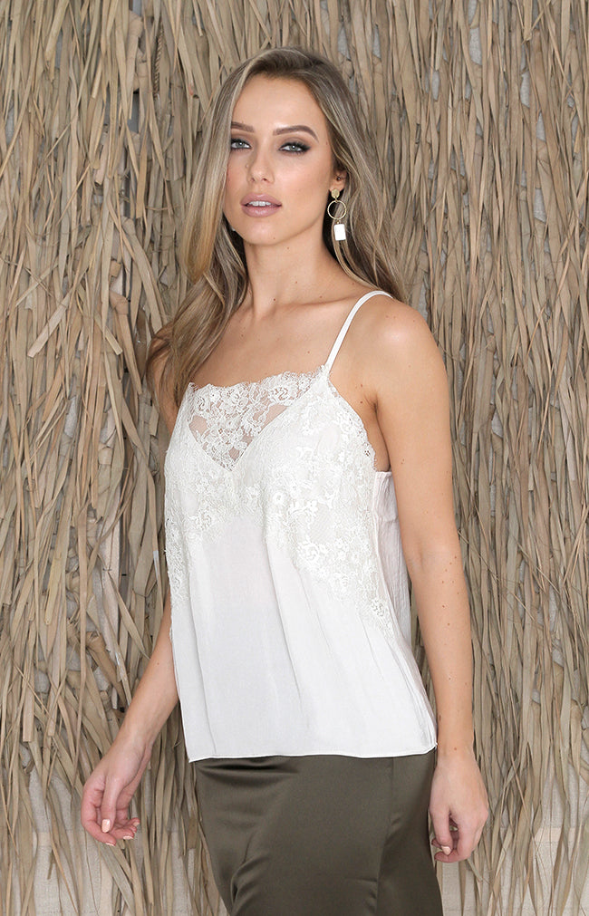 Polly Top - Ivory