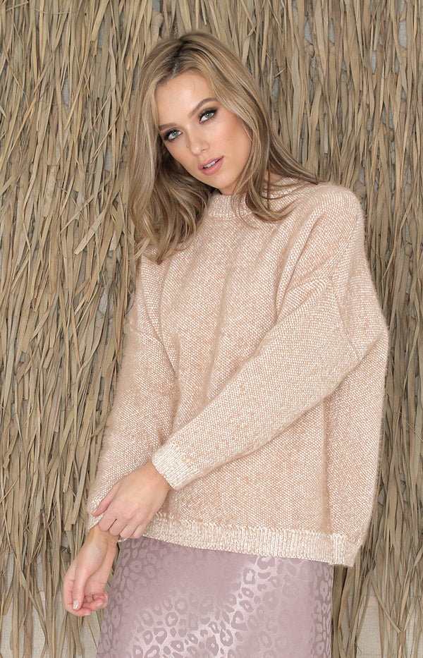 Trudy Jumper - Taupe
