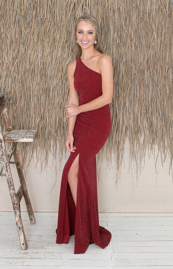 Raven Gown - Red