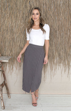 Jana Skirt - Carbon