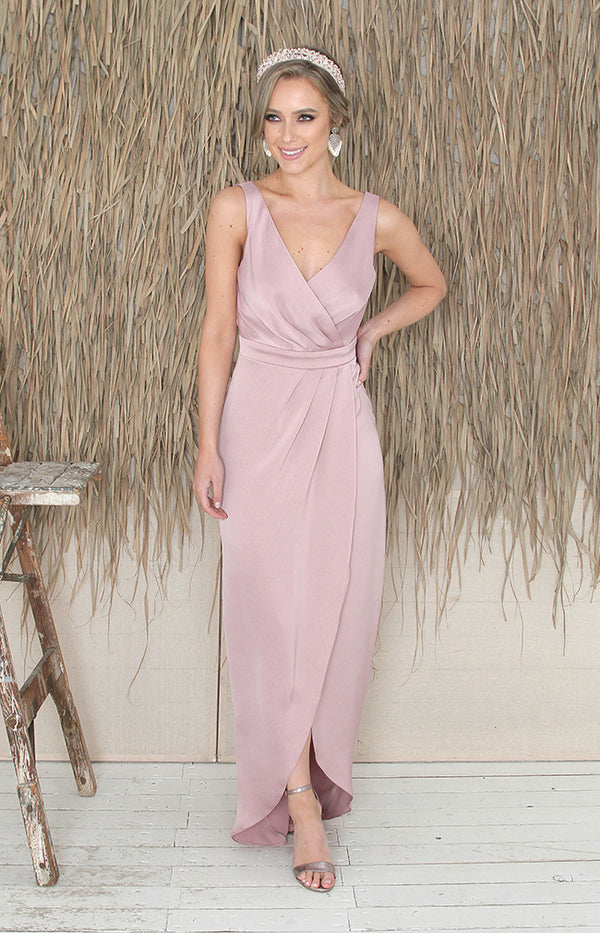 Fabia Gown  - Dusty Rose