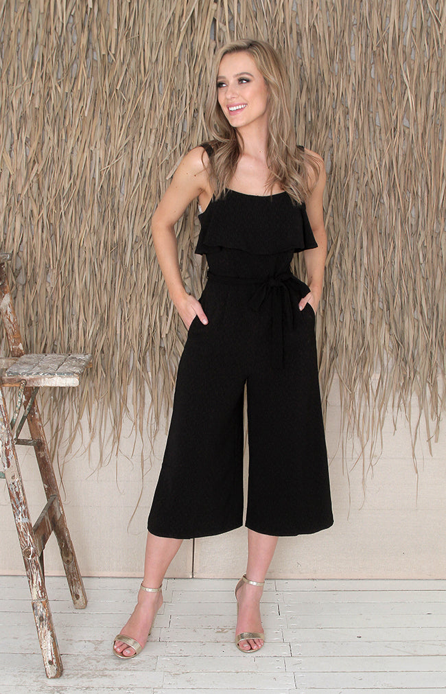 Ovie Jumpsuit - Black