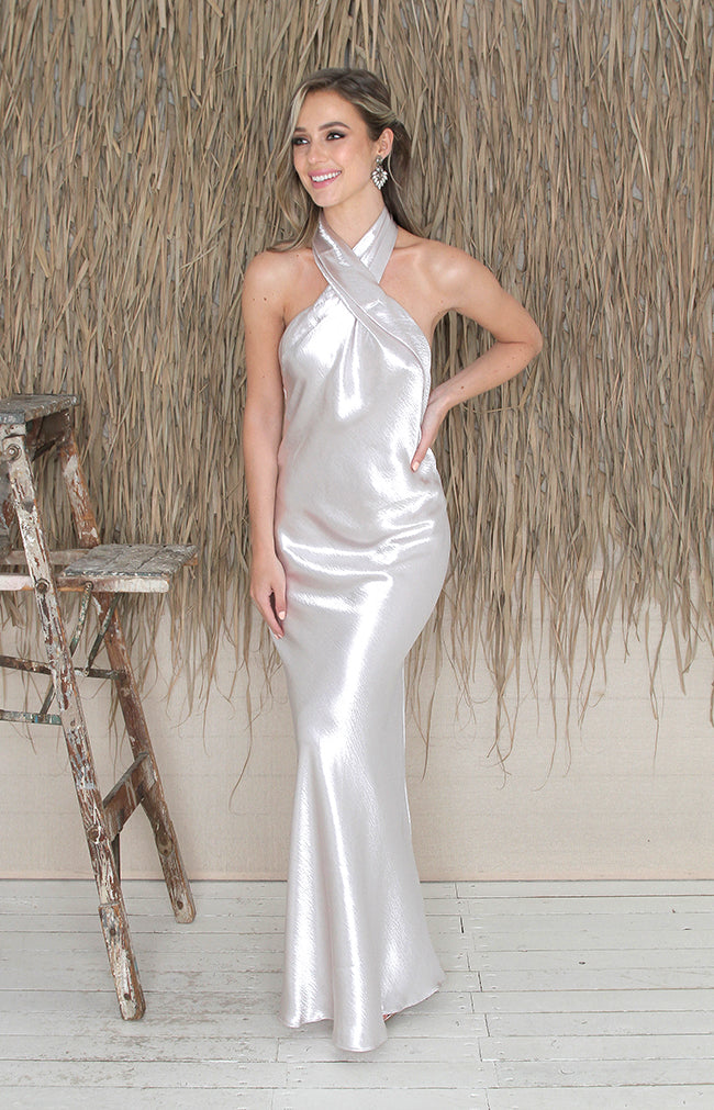 Pfeiffer Gown - Silver