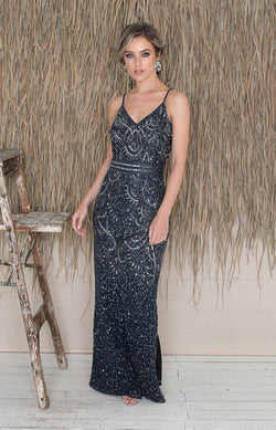 Valerie Gown - Navy