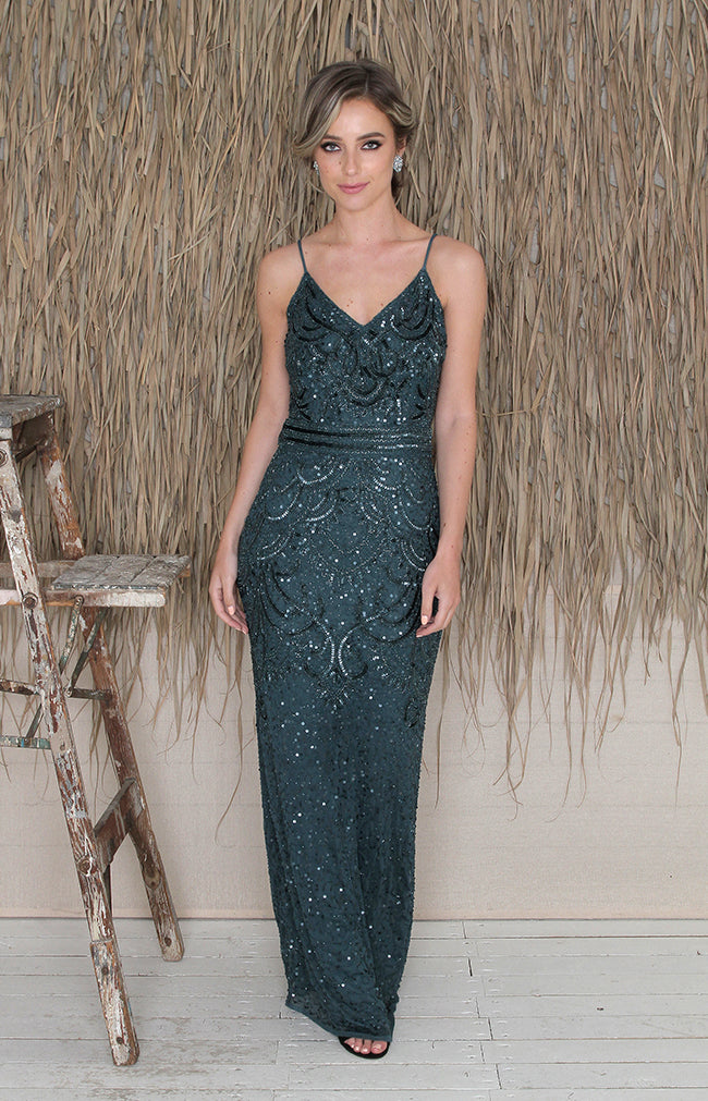 Valerie Gown - Teal