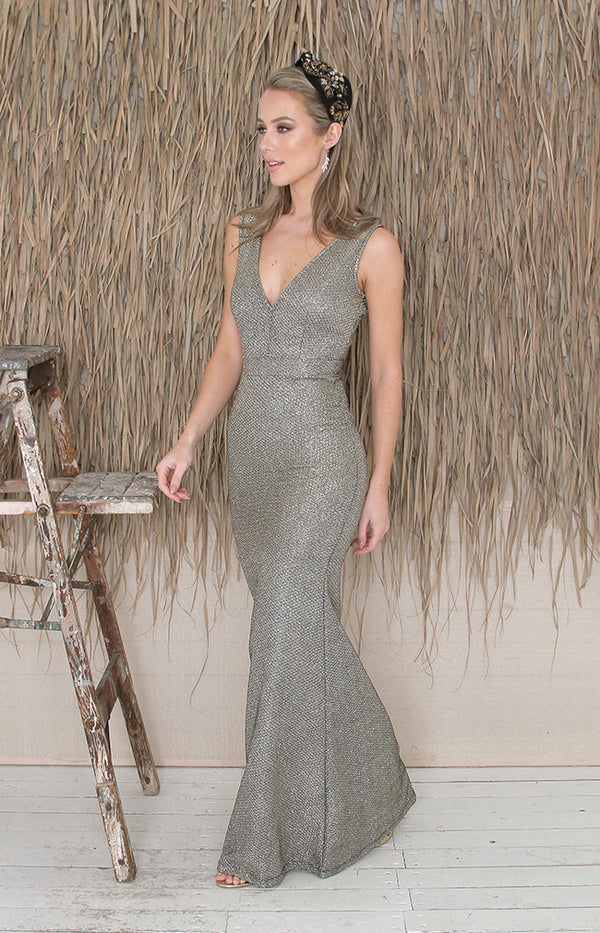 Luciana Gown - Gold