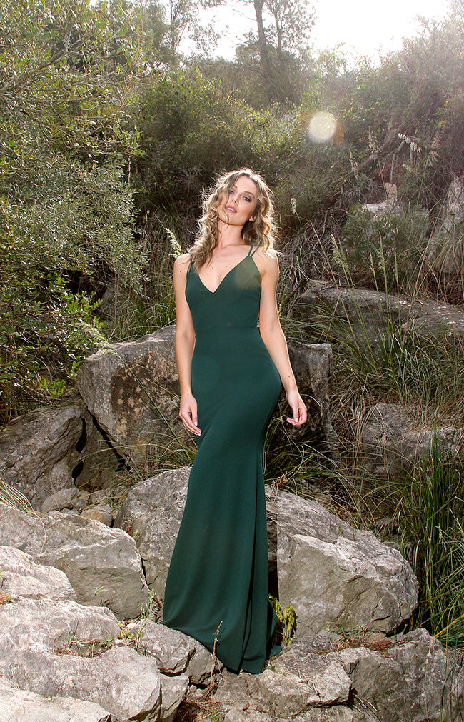 Talita Gown - Forest Green