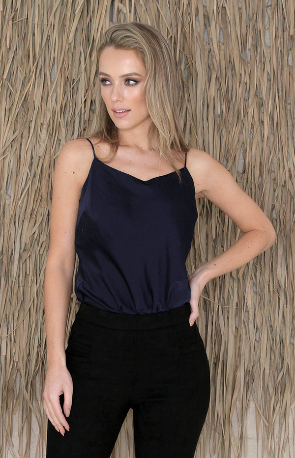 Shelli Bodysuit - Navy