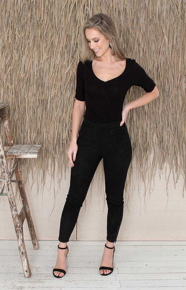 Turner Bodysuit - Black